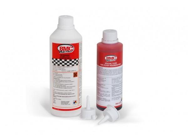 Reinigungskit BMC Reinigungsset für Sport Luftfilter Baumwolle (Reinigungsmittel & Filteröl)