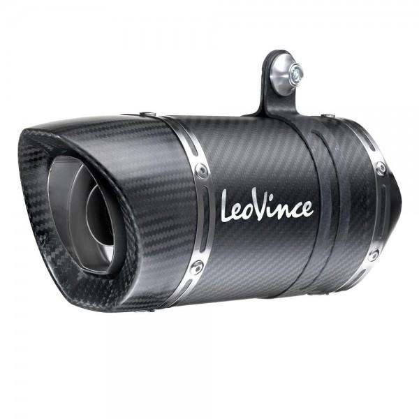 180mm LeoVince Sportauspuff LV PRO Carbon Yamaha YZF R3 Bj. 2015-2016 +ABE