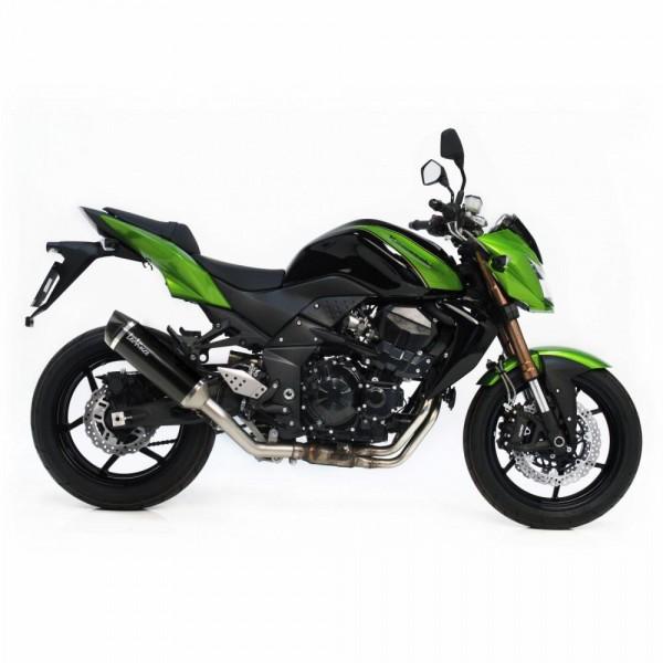Sport Auspuff LeoVince Nero Edelstahl Black Kawasaki Z 750/R Bj. 2007-2014 +ABE