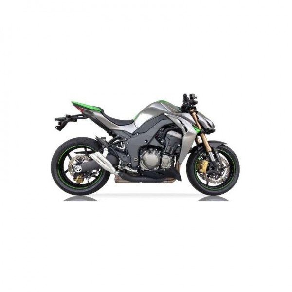 Sport Auspuff IXIL Hyperlow Edelstahl Kawasaki Z 1000 SX Bj. 2011-2019 +ABE