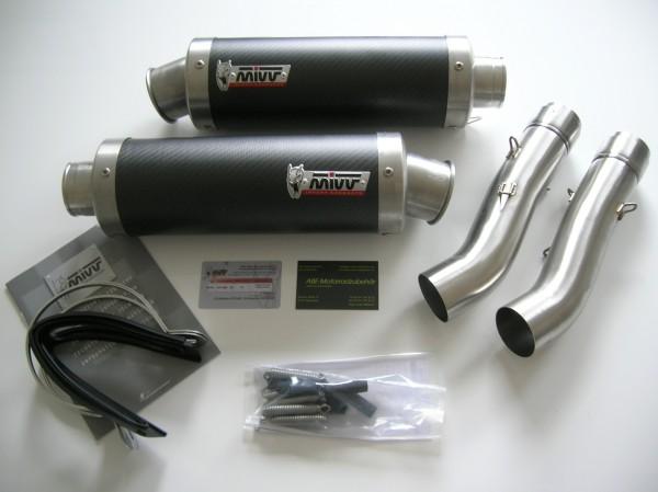 Sport Auspuff MIVV GP Carbon Aprilia RSV 1000 Bj. 2004-2008 Typ: RR +ABE