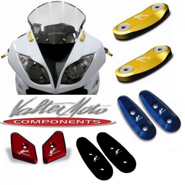Spiegel Abdeckung Verkleidung ValterMoto Alu Yamaha YZF 1000 R1 Bj. 1998-2008 Typ: RN01 bis RN19