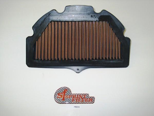 Sport Luftfilter Polyester Suzuki GSX-R 750 Bj. 2006-2010 Typ: CF / CW Sprint