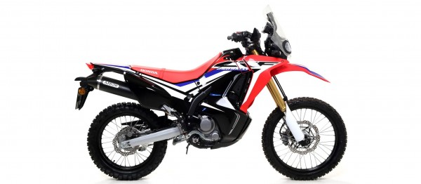 Sport Auspuff Arrow Thunder Dark Honda CRF 250 L/Rally Bj. 2017-2018 Typ: MD44 EURO-4 +Kat +ABE