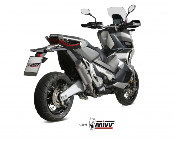 Sportauspuff MIVV GP PRO Titan Honda X-ADV 750 Typ: RC95 Bj. 2017-2018 EURO-4 ABE