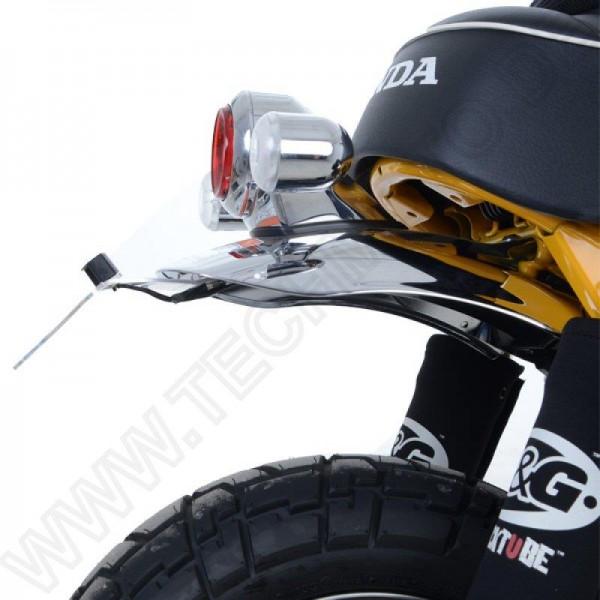 R&G Kennzeichenhalter Heckumbau Honda Z 125 MA Monkey / ABS Bj. 2018-2021 eintragungsfrei