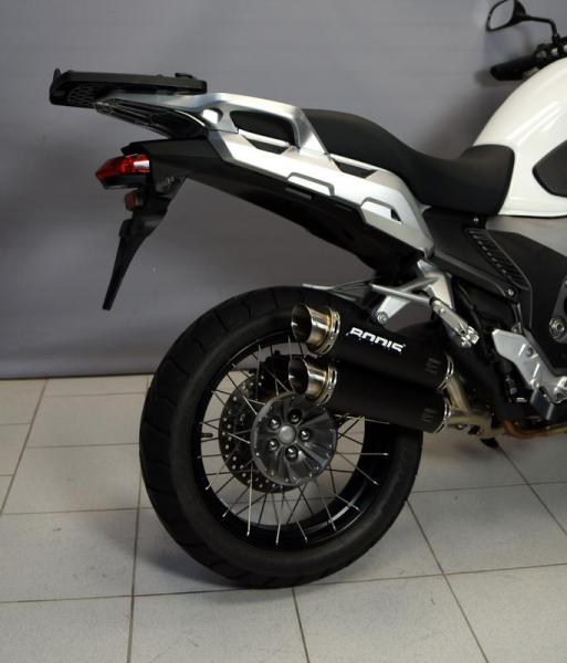 Sport Auspuff Bodis GPC-X2 Black Honda VFR 1200 X Crosstourer Bj 2012-2015