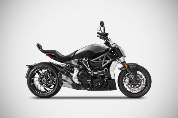 ZARD Sport Auspuff Full Kit mit Kat Edelstahl Ducati X Diavel ab Bj. 2017 Euro 4