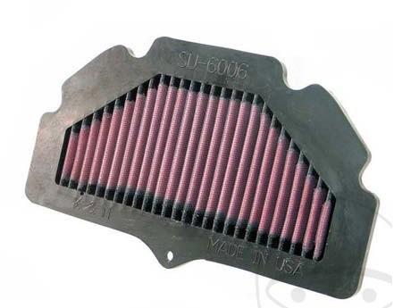 Sport Luftfilter K&N Suzuki GSR 600 ab Bj. 2006 Typ: B9 / GSR 750 ab Bj. 2011 Typ: C5 Tauschfilter