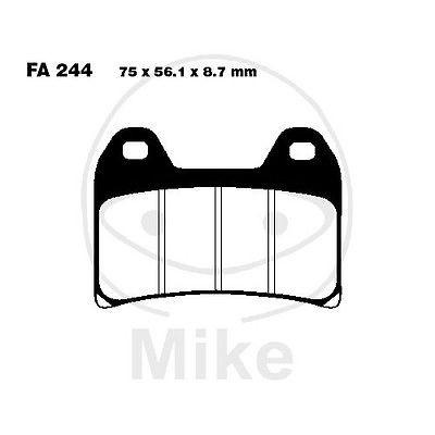 Bremsbeläge vorne KTM LC4 640 E Super Moto Bj. 04-06