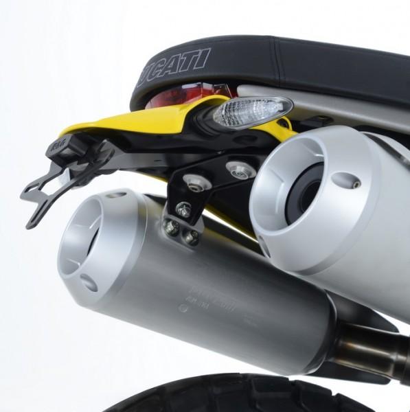 R&G Kennzeichenhalter Heckumbau Ducati Scrambler 1100 ab Bj. 2018 eintragungsfrei