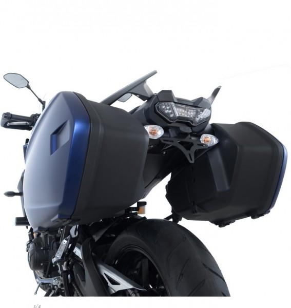 R&G Kennzeichenhalter Heckumbau Yamaha Tracer 900 / GT Bj. 2018-2020 eintragungsfrei