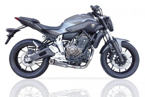 Sport Auspuff Komplettanlage IXIL SX1 Yamaha MT-07 / ABS / MotoCage Bj. 2014-2020 EURO-3/EURO-4 +ABE