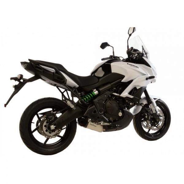 Sport Auspuff Komplettanlage LeoVince Underbody Kawasaki Versys 650 Bj. 2015-2016 +ABE