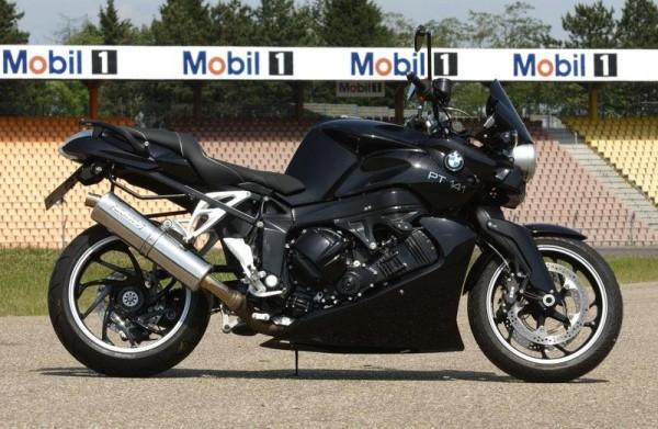 Sport Auspuff Bodis Oval 1MK Edelstahl mit Katalysator BMW K 1200 Bj. 2005-2009 mit ABE