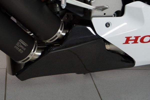 Bodis Abdeckung Carbon f. Kat / Sammler Hitzeschild Honda CBR 1000 RR Bj. 2014-2016