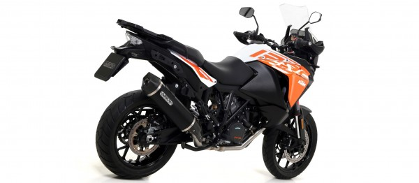 Sport Auspuff Arrow Race-Tech Aluminium Dark KTM 1290 Super Adventure Bj. 2015-2016 +ABE