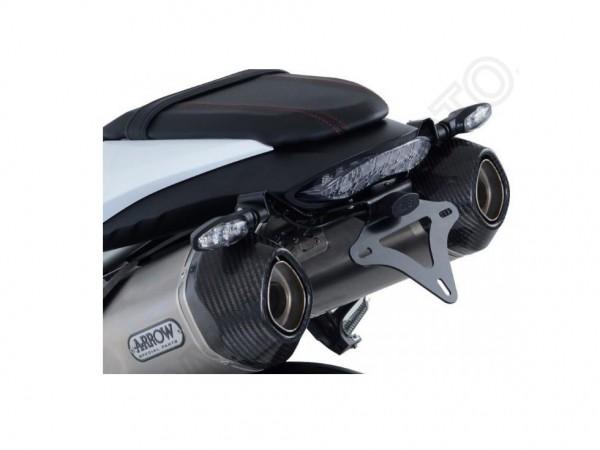 R&G Kennzeichenhalter Heckumbau Triumph Speed Triple 1050 S/R Typ:NN01 Bj. 2016-2018 eintragungsfrei