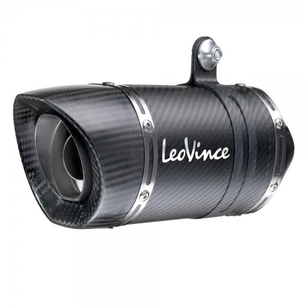 180mm LeoVince Sportauspuff LV PRO Carbon Yamaha MT 25 Bj. 2015-2016 +ABE