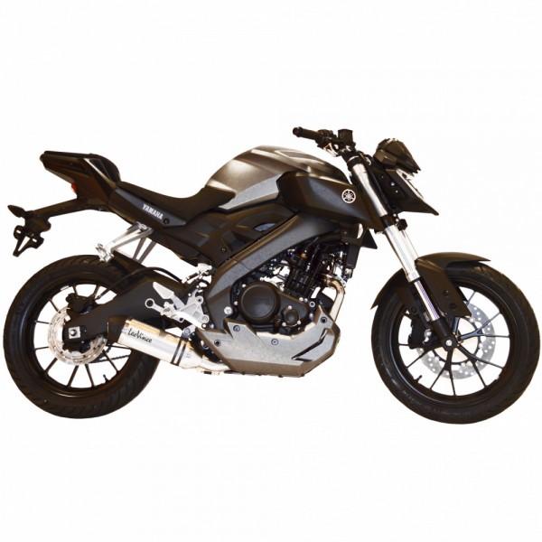 Sport Auspuff LeoVince LV One EVO Komplettanlage Yamaha MT-125 / ABS Bj. 2014-2016 Typ: RE11 +ABE