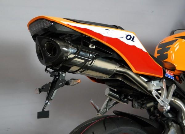 Sport Auspuff Bodis Oval Q1-S Honda CBR 600 RR Fireblade PC40 Bj. 2013-2016 +ABE