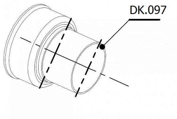 MIVV db-Killer für diverse MIVV GP Modelle, Außendurchmesser 48mm, Auslassdurchmesser 35mm