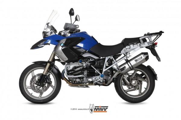 Sport Auspuff MIVV Speed Edge f. BMW R 1200 GS Titan Edition Bj. 2004-2007 mit ABE / Kat