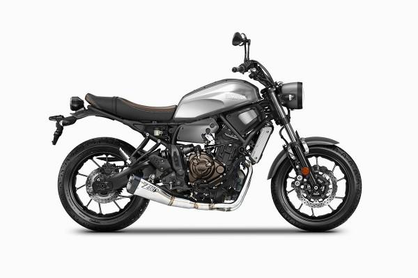 Sport Auspuff Komplettanlage +Kat ZARD Edelstahl Yamaha MT-07 / Tracer 700 Bj. 2017-2020 EURO-4 +ABE