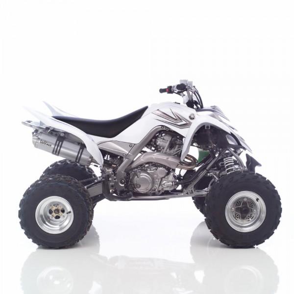 Sport Auspuff LeoVince X3 Enduro Quad Yamaha YFM 700 R Raptor Bj 2006-2012 Typ: AM07W +ABE