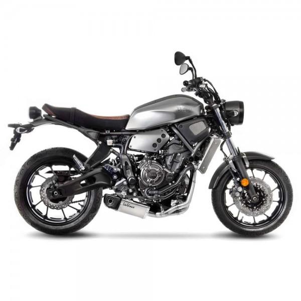 Sportauspuff LeoVince Underbody Komplettanlage Yamaha XSR 700 Bj. 2016-2020 EURO-3/EURO-4 +Kat/ABE