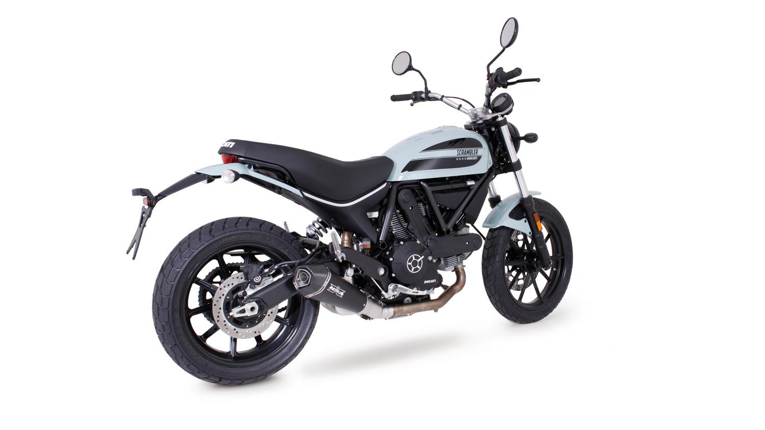 sport auspuff remus hypercone black f r ducati scrambler. Black Bedroom Furniture Sets. Home Design Ideas