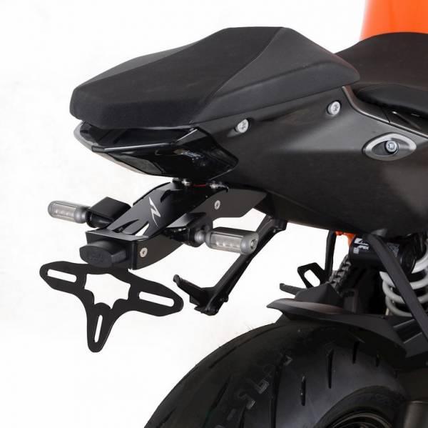 R&G Kennzeichenhalter Heckumbau KTM Super Duke 1290 R Bj. 2020-2021 Black Edition eintragungsfrei