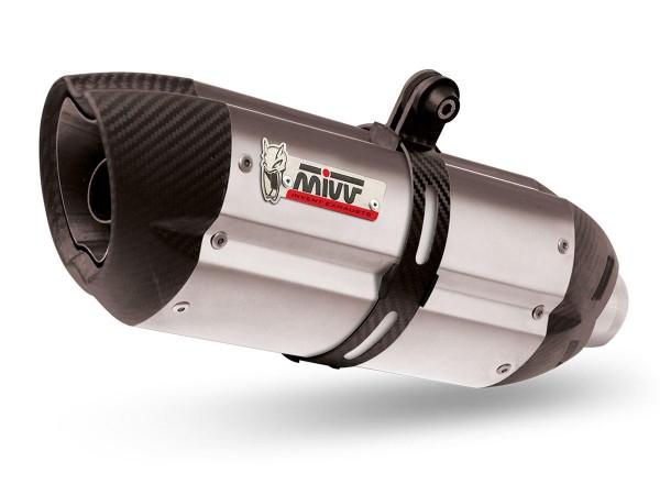 Sport Auspuff MIVV Suono Edelstahl Honda CBR 600 F Typ: PC35F Bj. 2001-2010 +ABE