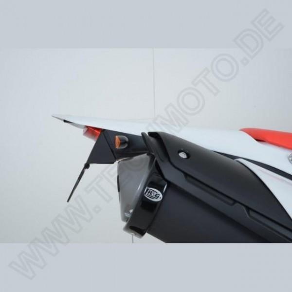 R&G Kennzeichenhalter Heckumbau Honda CRF 250 L / M Bj. 2013-2019 für Miniblinker / eintragungsfrei