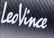 Aufkleber Leo Vince Label Emblem Logo new, hitzefest, Alu, Sport Auspuff Sticker