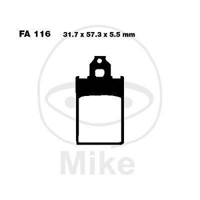 Bremsbeläge vorne Malaguti F12 50 LC DT Phantom 96-98