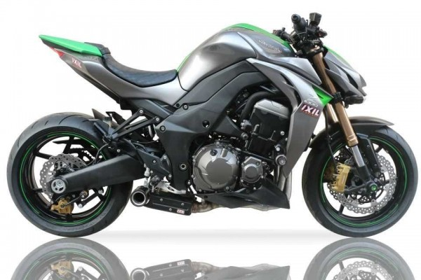 Sport Auspuff Komplettanlage IXIL SX1 Kawasaki Z 1000 /R & Z 1000 SX Bj.2010-2019 EURO-3/EURO-4 +Kat