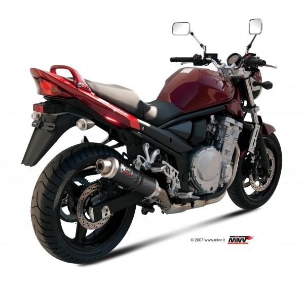Sport Auspuff MIVV GP Carbon Suzuki GSF 650 Bandit / GSX 650 F Bj.2007-2015 Typ:CJ1/CJ2/CZ1/CZ2 +ABE