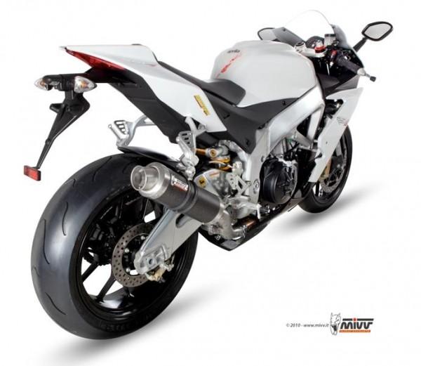 Sport Auspuff MiVV GP Carbon Aprilia RSV4 /Tuono V4 1000 Bj. 2009-2016 Typ: RK/TY +ABE
