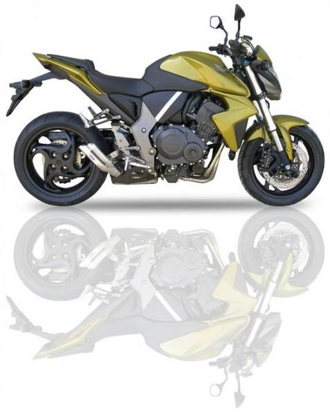 Sport Auspuff IXIL Hyperlow Edelstahl Honda CB 1000 R Bj. 2008-2016 SC60 +ABE
