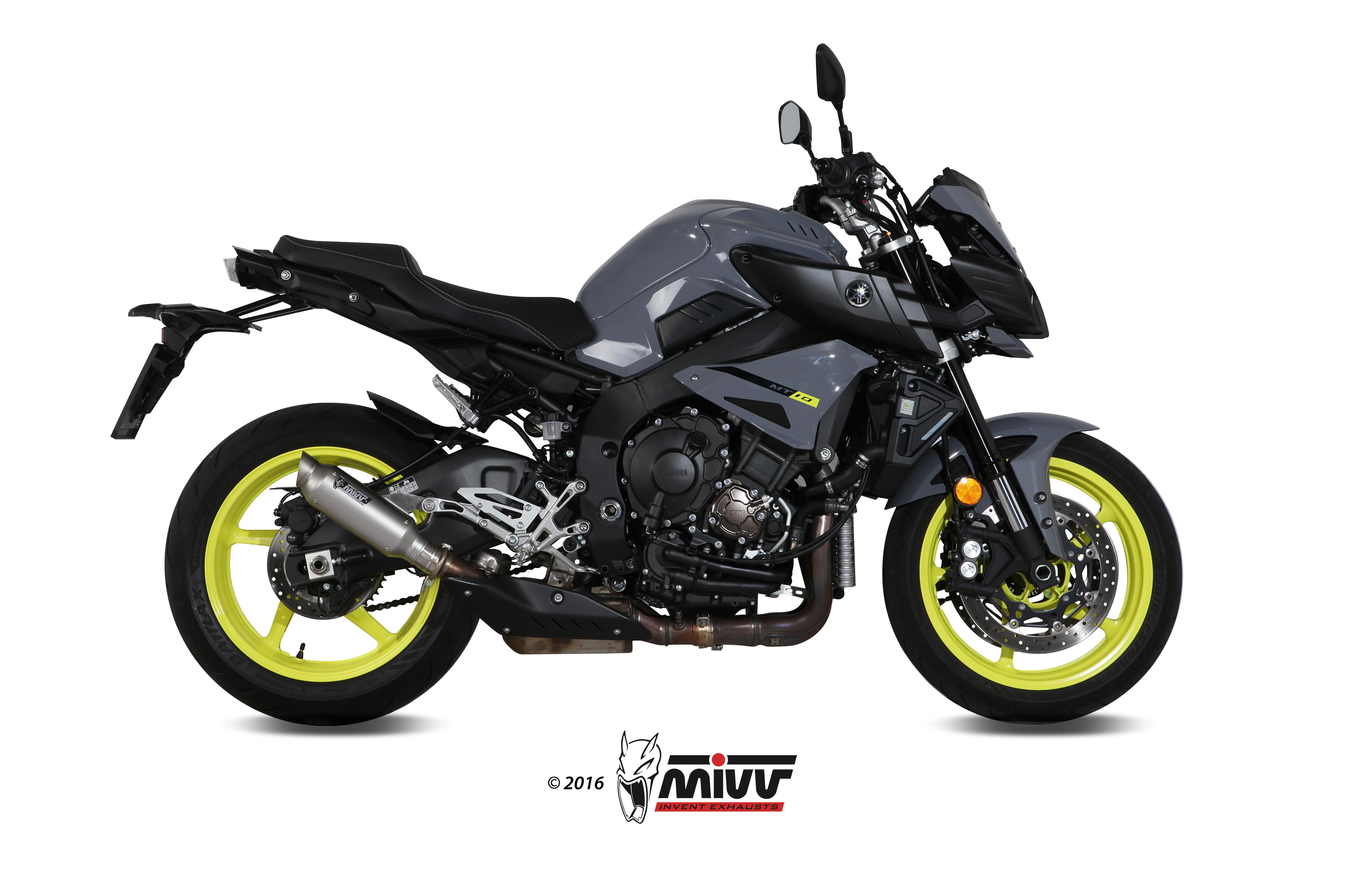 sport auspuff mivv gp m2 edelstahl yamaha mt 10 bj 2016. Black Bedroom Furniture Sets. Home Design Ideas