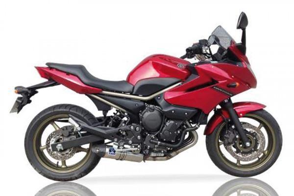 Sport Auspuff Komplettanlage IXIL Hexoval Xtrem Evolution Yamaha XJ6 / Diversion Bj. 2009-2016 +Kat