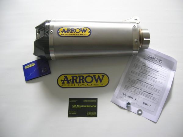 Sport Auspuff Arrow Works Titan mit Carbonendkappe BMW S 1000 RR Bj. 2009-2014 +ABE