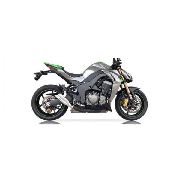 Sport Auspuff IXIL Hyperlow Edelstahl Kawasaki Z 1000 / R Edition Bj. 2010-2019 EURO-3/EURO-4 +ABE