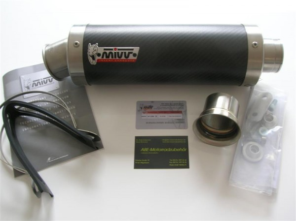 Sport Auspuff MIVV GP Carbon KTM 1290 Superduke R Bj. 2014-2018 EURO-3 / EURO-4 mit ABE