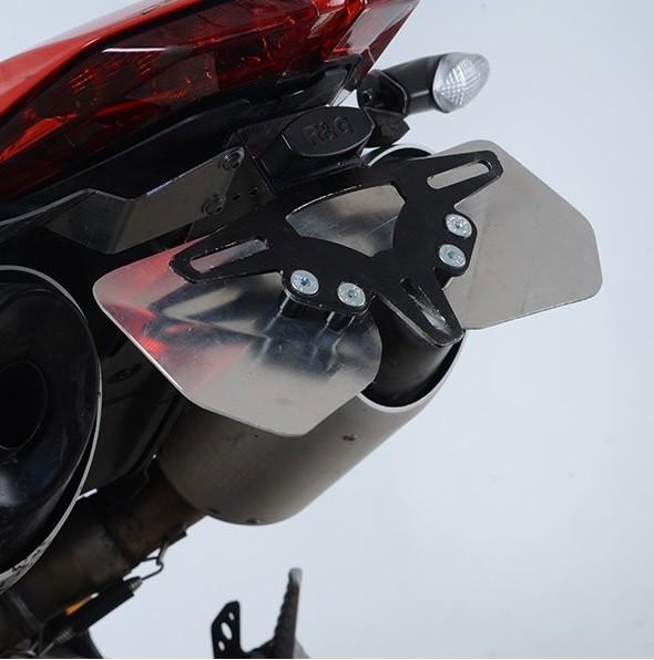 R&G Kennzeichenhalter Heckumbau Ducati Hypermotard 950 / SP Bj. 2019 eintragungsfrei