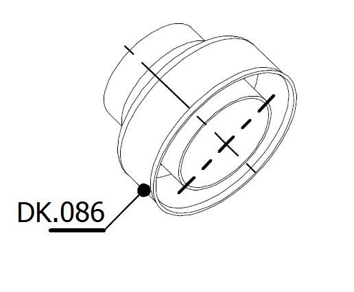 DB-Killer DB Eater MIVV / Storm GP / Oval / Speed Edge Außendurchmesser 61mm / Auslass 40mm