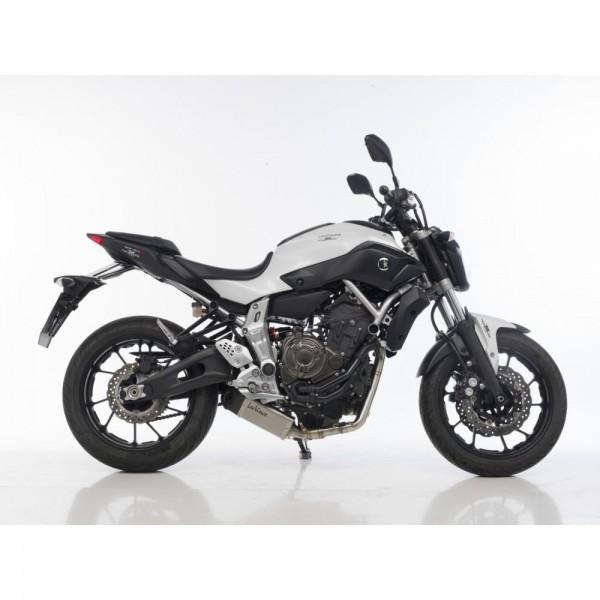 Sportauspuff LeoVince Underbody für Yamaha MT-07 / FZ-07 / ABS Bj. 2014-2016 Komplettanlage +ABE