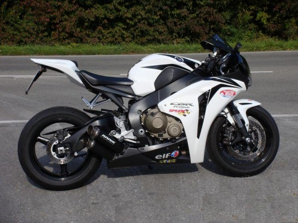 Sport Auspuff Bodis GPX2 Edelstahl Black Honda CBR 1000 RR SC59 Fireblade Bj. 2008-2013 +ABE