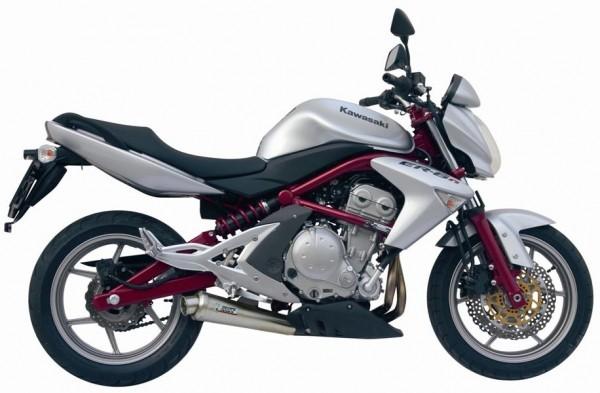 Sport Auspuff MIVV X-Cone Edelstahl Kawasaki ER-6N /F Bj. 2005-2011 & Versys 650 Bj. 2006-2014